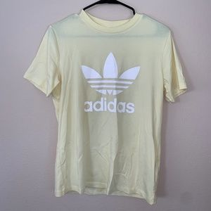 🔻Classic Yellow Adidas Tee